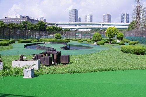 辰巳の森公園パターゴルフ